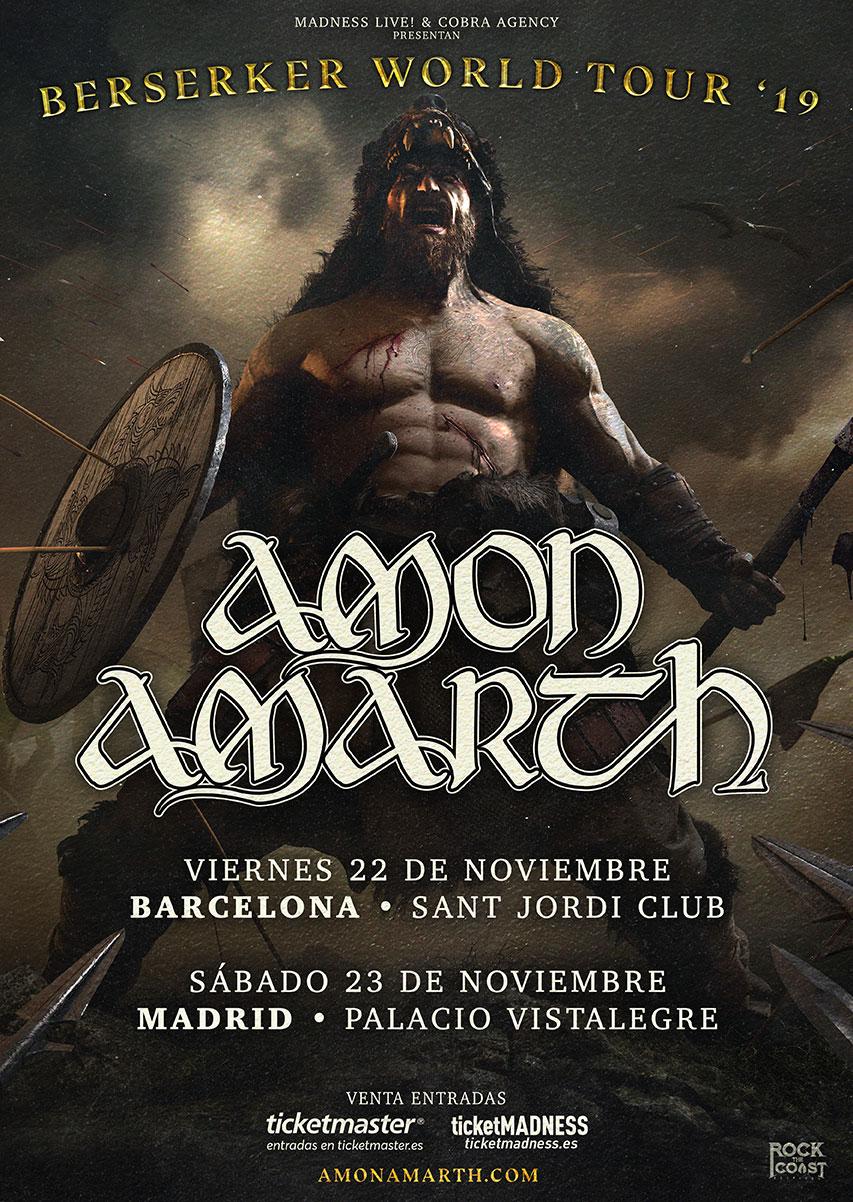 Amon Amarth World Tour