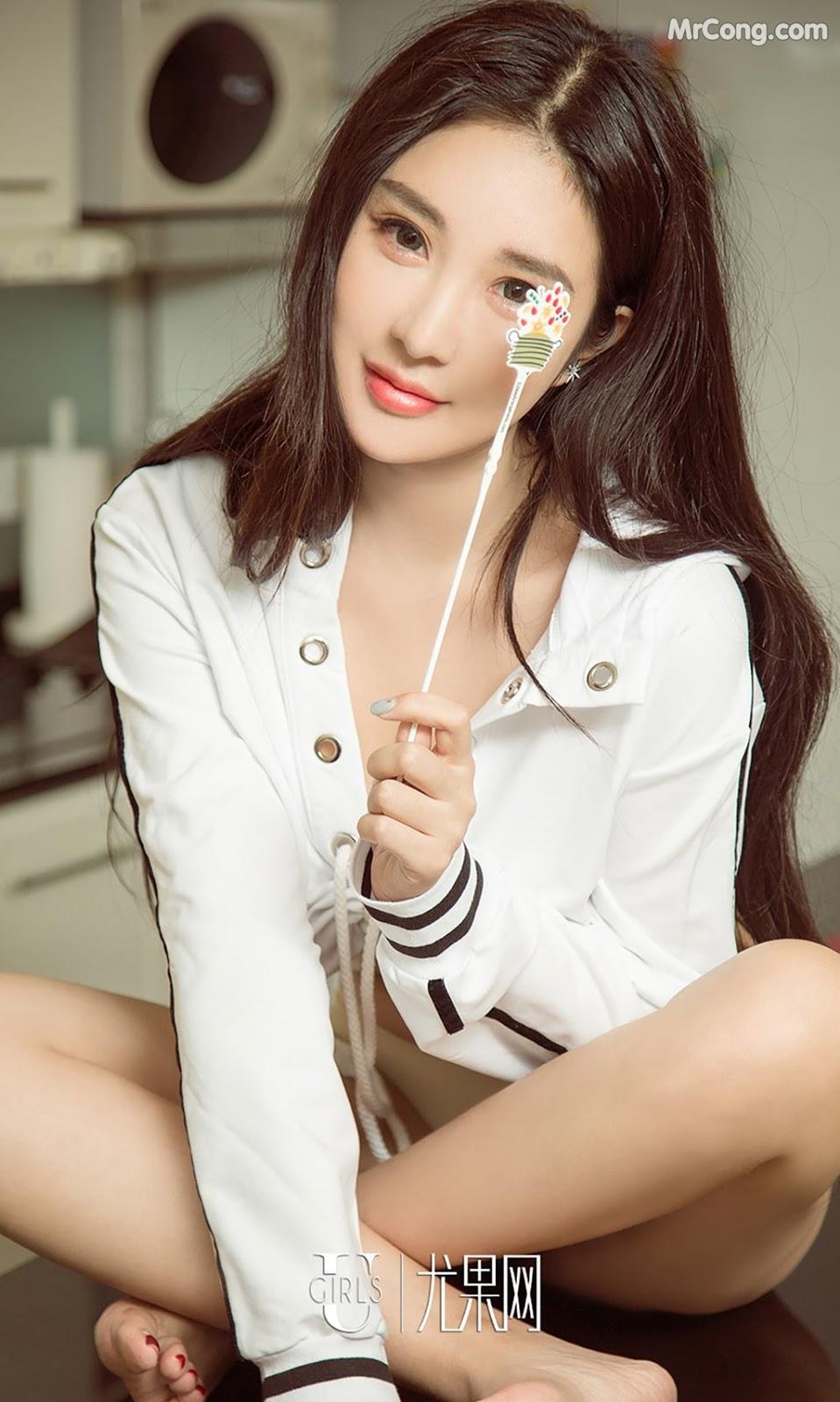 UGIRLS – Ai You Wu App No.795: Người mẫu Lu Xiao Ran (路小冉) (40 ảnh)