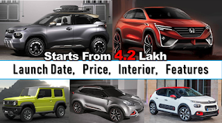 upcoming compact suv in india