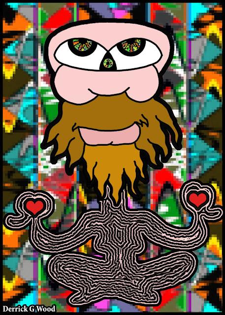meditation art artwork spiritual healing