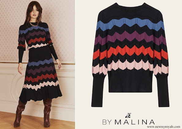 Princess Sofia wore By Malina Billie top