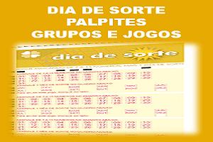 Palpites dia de sorte 91 grupos e jogos desdobrados