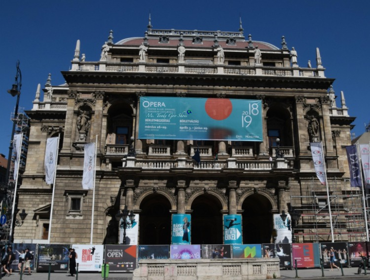 Hungarian Opera House in Budapest  | Ms. Toody Goo Shoes #budapest #danuberivercruise #hungary