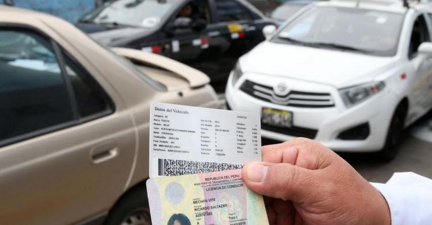 MTC: Ministerio de Transportes reanudará este martes entrega de brevete físico a conductores