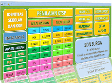 Download Aplikasi Penilaian KTSP SD/MI Kelas 1,2,3,4,5,6 Plus Cetak Raport