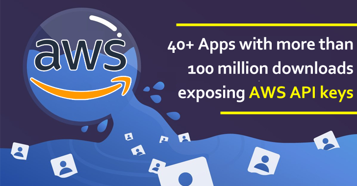 40+ Apps With More Than 100 Million Downloads Exposing AWS API Keys