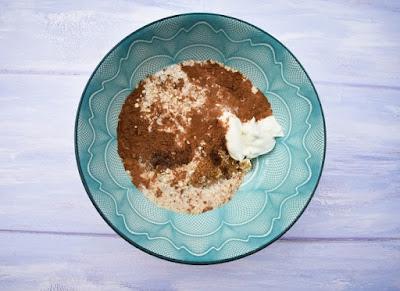 Blueberry Muffin Overnight Oats - Step 5 Milk