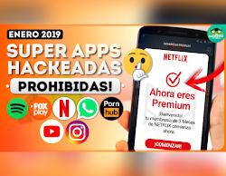 Top 8 Aplicaciones PREMIUM CON TODO ILIMITADO Mas Buscadas Enero 2019 | Mejores apps android