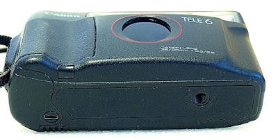Canon Autoboy Tele 6, Bottom