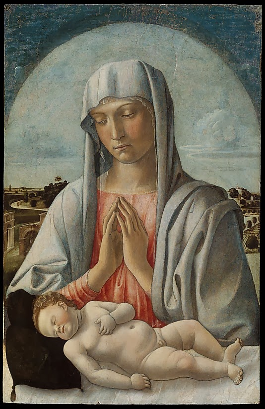 Bellini, Virgen con el Niño