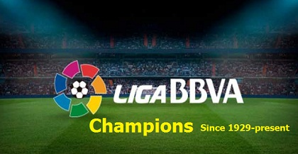 Full list of spanish Football league la liga winners, champions history,list since inaugural 1920