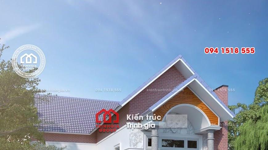 Mẫu nhà cấp 4 mái thái chữ L đẹp hiện đại đầy đủ công năng - Mã số BT1010 - Ảnh 1