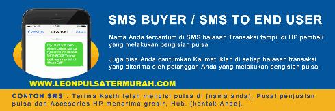Cara Setting SMS Buyer Leon Pulsa Termurah