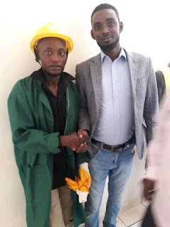Mungu ni Mwema Boniface Murage who was arrested after smuggling baby from kenyatta hospital starts job in Nairobi city council, Here is the job sonko offered him