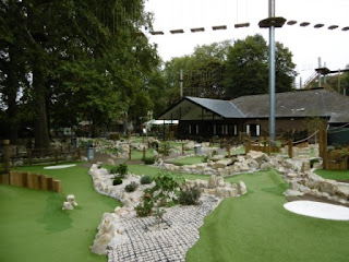 Putt in the Park Mini Golf at Battersea Park in London