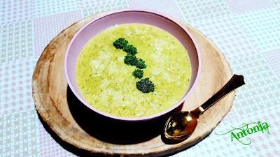 ♣ Crema Verde Con Brócoli ♣