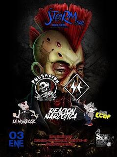 FESTIVAL de Punk Rock STORM Bogota 2020