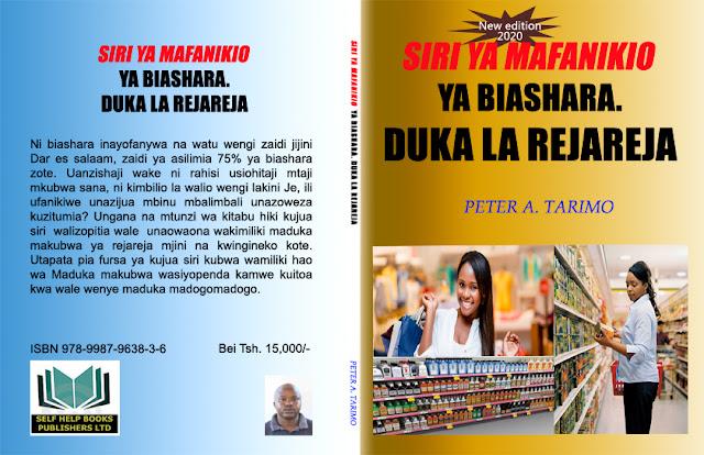 Jalada, upande wa nyuma na mbele la kitabu cha mafanikio ya biashara ya duka la rejareja-new edition 2020