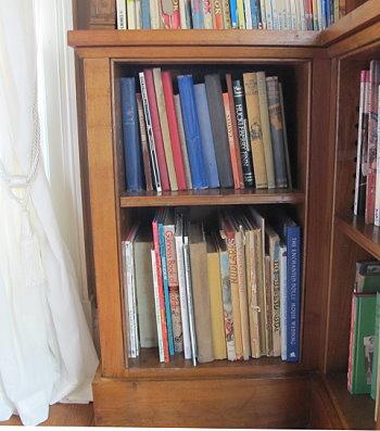 Library at Killerton Vintage Children's books
