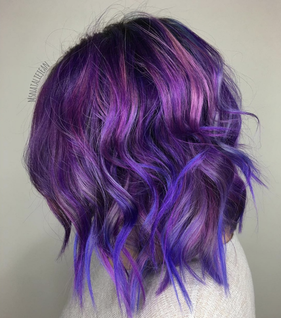 2020 purple hair color