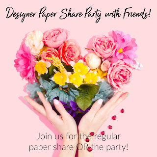 Stampin' Up!'s January-June Mini Catalog Paper Party Share with Friends!!  Paper share or paper share WITH party!  Your choice!!  RSVP by Jan 17!!  #Stampinup #dsp #designerpaper #paper share #StampTherapist
