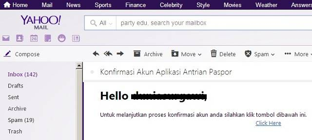 email konfirmasi paspor online