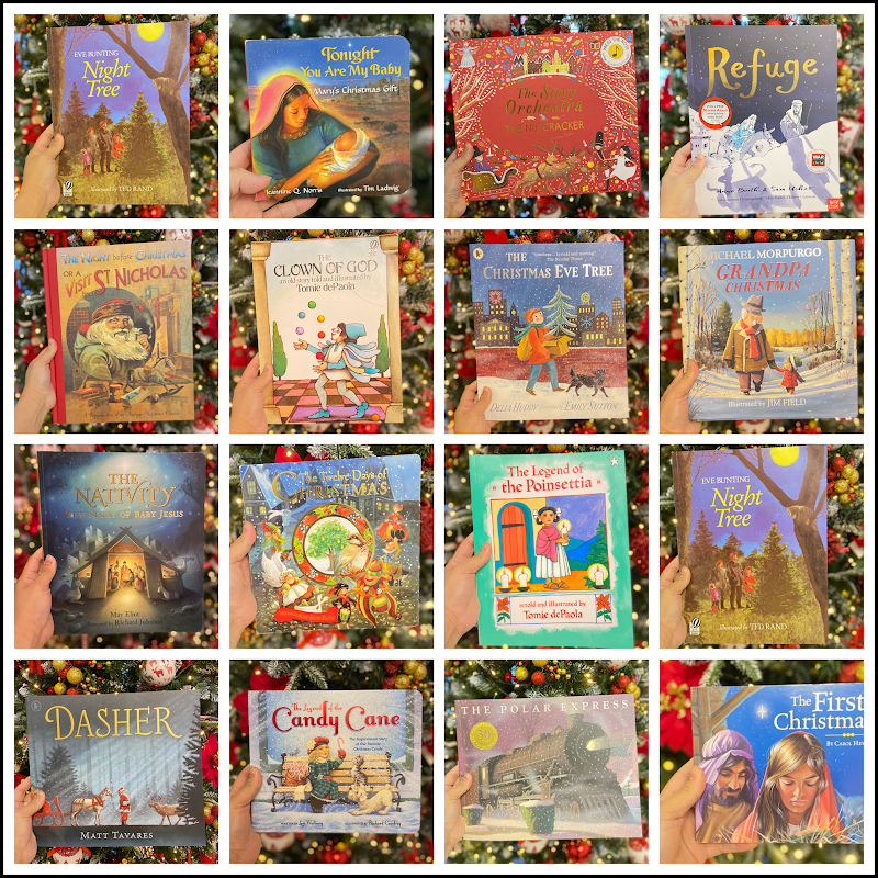 Advent Books for Christmas Countdown