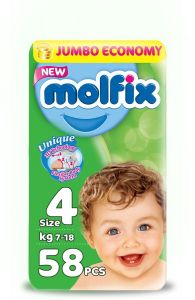 Molfix Diaper No. 4