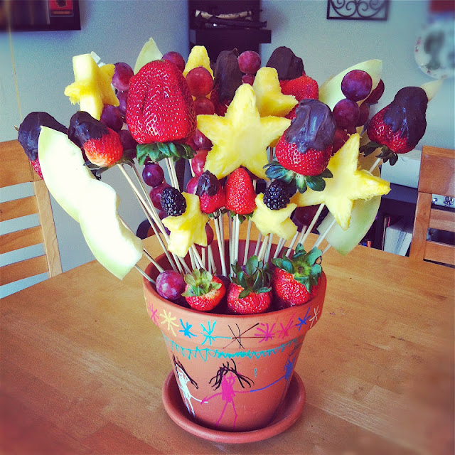 Burnin Down The House Mothers Day Homemade Edible Arrangement