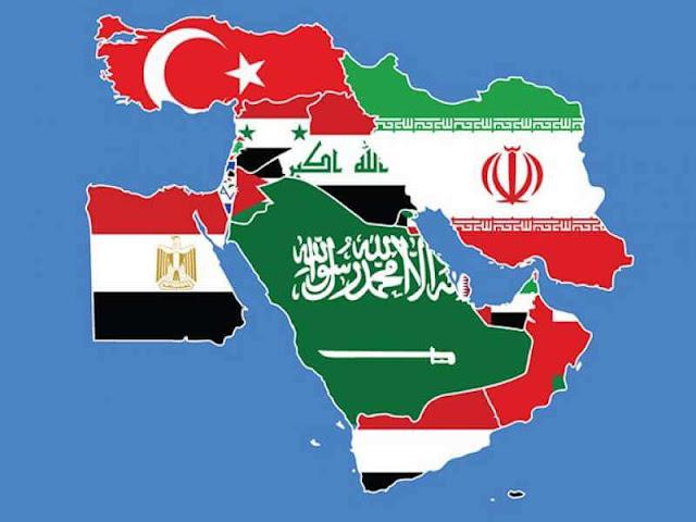ما هي دول الشرق الأوسط؟