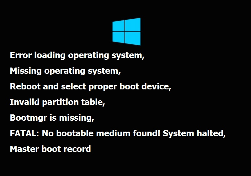 how to repair windows 10 on another drive