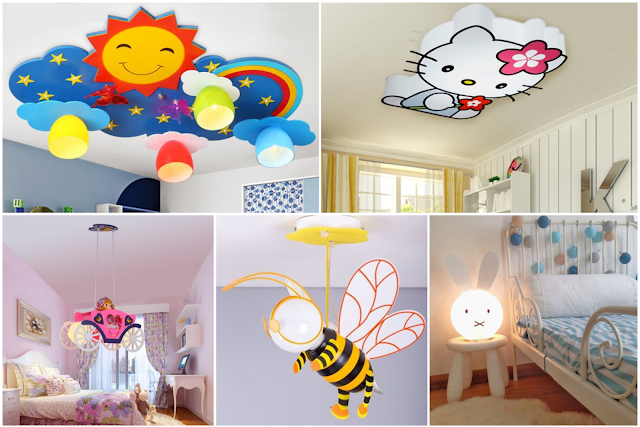 Delightful Lighting Devices For Children Bedroom Designs