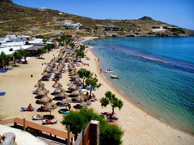 Best Island Beaches For Partying Mykonos St Barts: MYKONOS ISLAND - GREEK SUMMER PARADISE