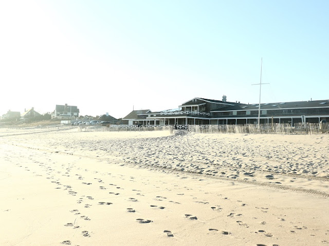 plage hamptons hiver