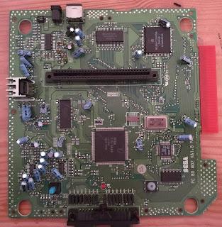 VA1.8 Mega Drive 2 board