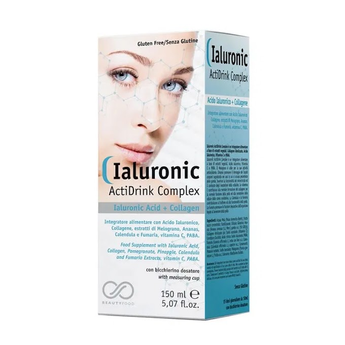 Ialuronic ActiDrink Complex | Πόσιμο Υαλουρονικό οξύ & Κολλαγόνο 150ml