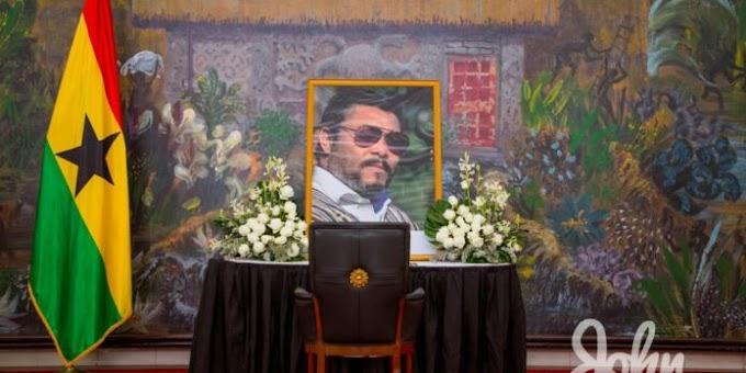 Ghana honours ex-president John Jerry Rawlings