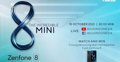 ASUS Zenfone 8 Siap Masuk Pasar Indonesia