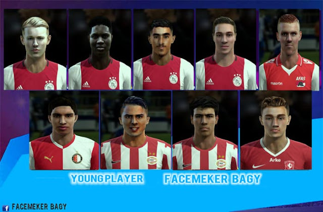 Young Player Facepack v21 2020 PES 2013