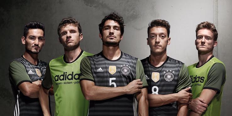 Deutschland Em 2016 Auswärts Trikot Veröffentlicht Nur Fussball