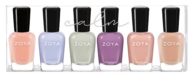 Zoya Calm Spring 2020 Collection Sampler