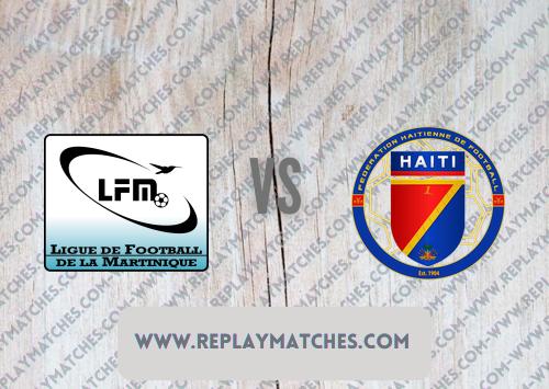 Martinique vs Haiti -Highlights 18 July 2021