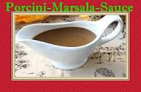 Porcini sauce with mushrooms