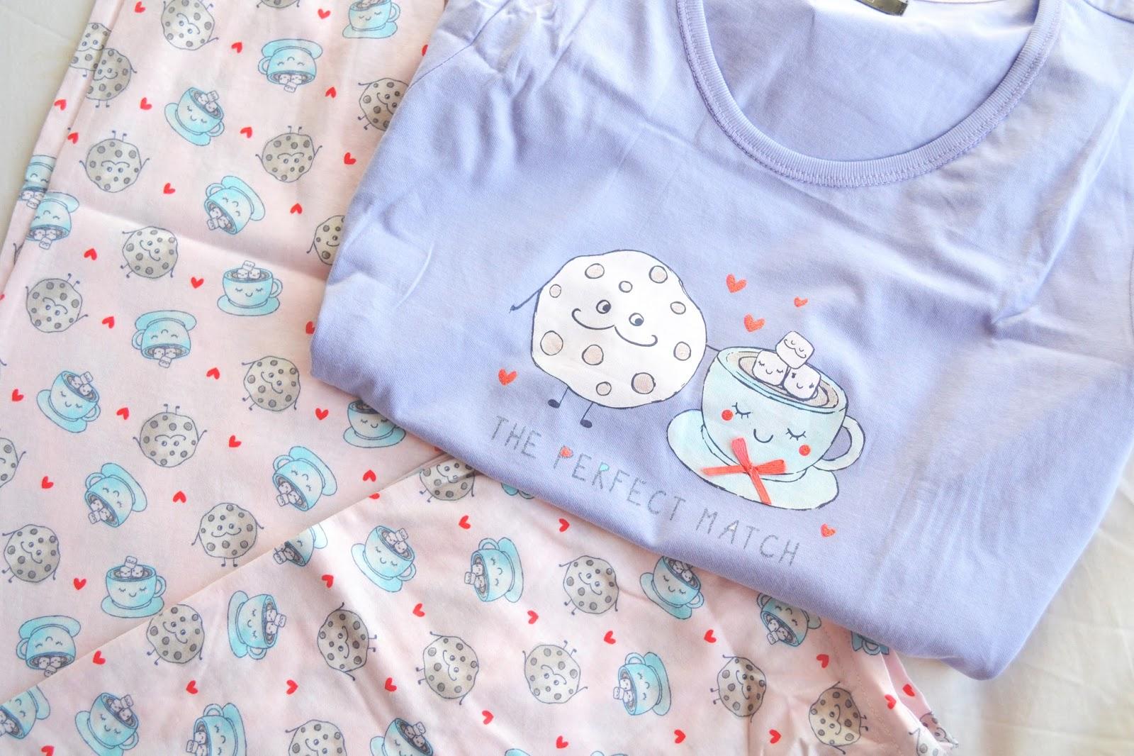cute pyjama set