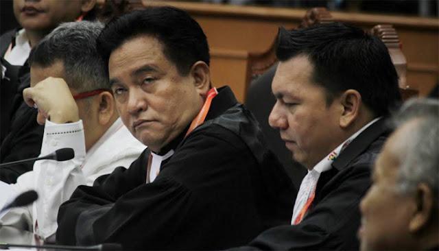 Yusril: Semua Gugatan Prabowo - Sandi Bisa Dipatahkan dengan Mudah