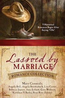 Heidi Reads... The Lassoed by Marriage Romance Collection by Mary Connealy, Angela Bell, Angela Breidenbach, Lisa Carter, Rebecca Jepson, Amy Lillard, Gina Welborn, Kathleen Y'Barbo, Rose Ross Zediker