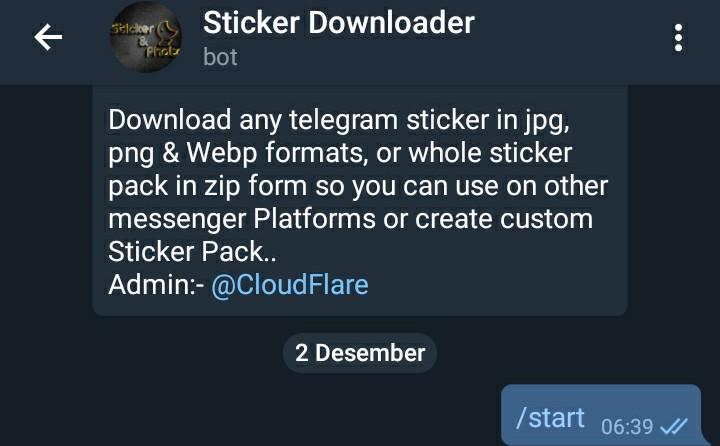 Memindahkan Stiker Telegram Ke Whatsapp