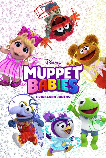 """Série """"Muppet Babies"""" chega ao Disney Junior com pré-estreia exclusiva e nova personagem."""