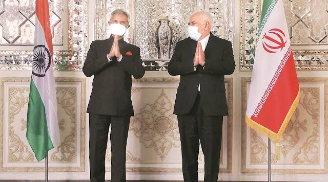 S jaishankar and  mohammad javad zarif
