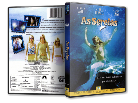 Capa DVD As Sereias